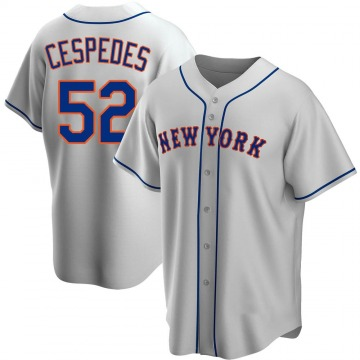 Youth New York Mets Yoenis Cespedes Gray Road Jersey - Replica